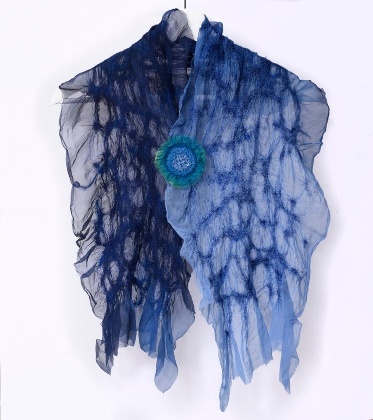 blue scarf_Med